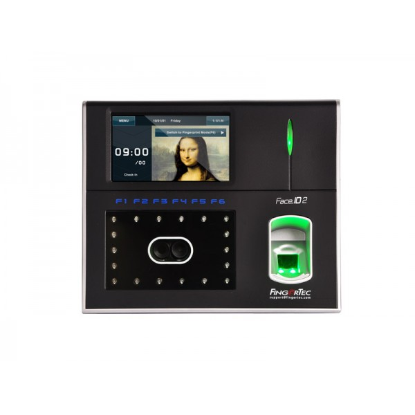 Fingertec Face ID 2 Time Attendance and Door Acces...